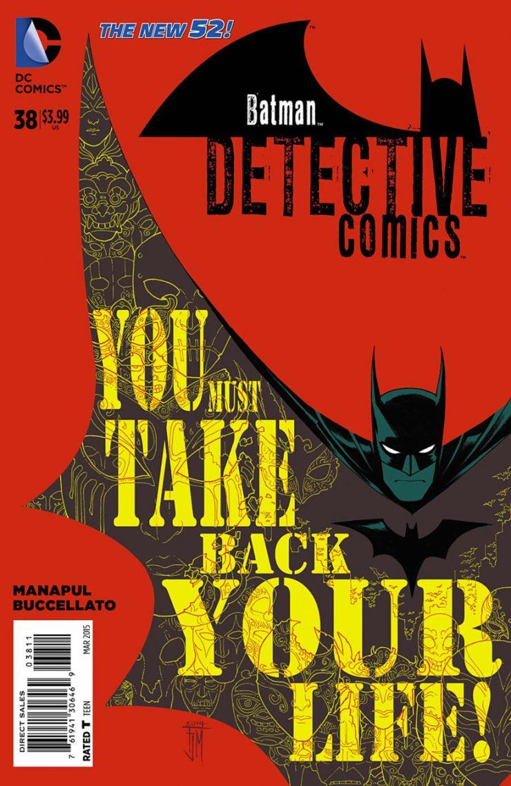 Detective Comics #38 New52, комікси про бетмена