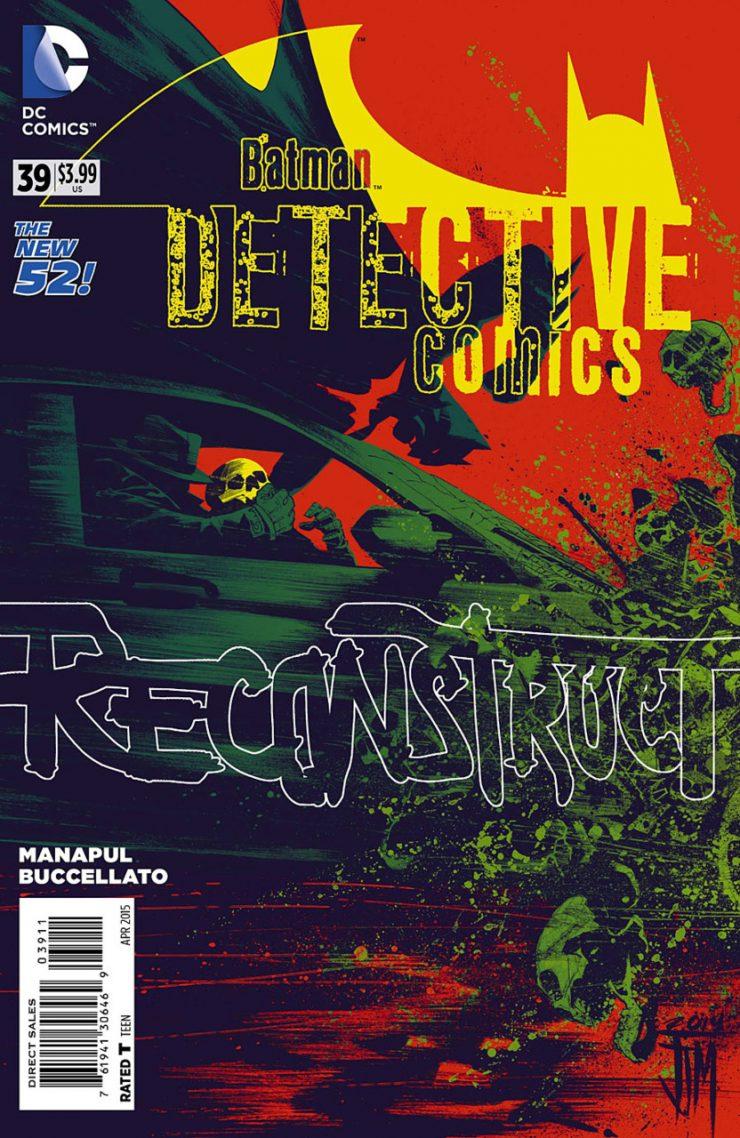 Detective Comics #39 New52, комікси про бетмена