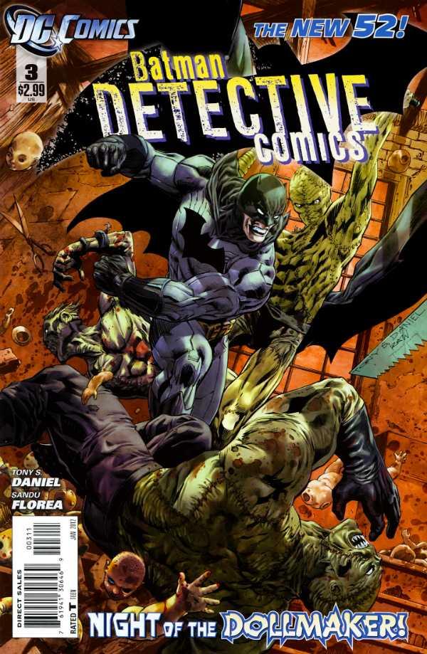 Detective Comics #3 New52, комікси про бетмена