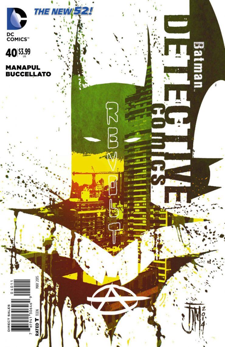 Detective Comics #40 New52, комікси про бетмена