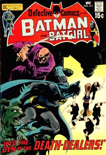 Detective Comics #411, комікси про бетмена