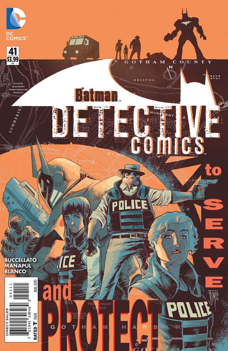 Detective Comics #41 New52, комікси про бетмена