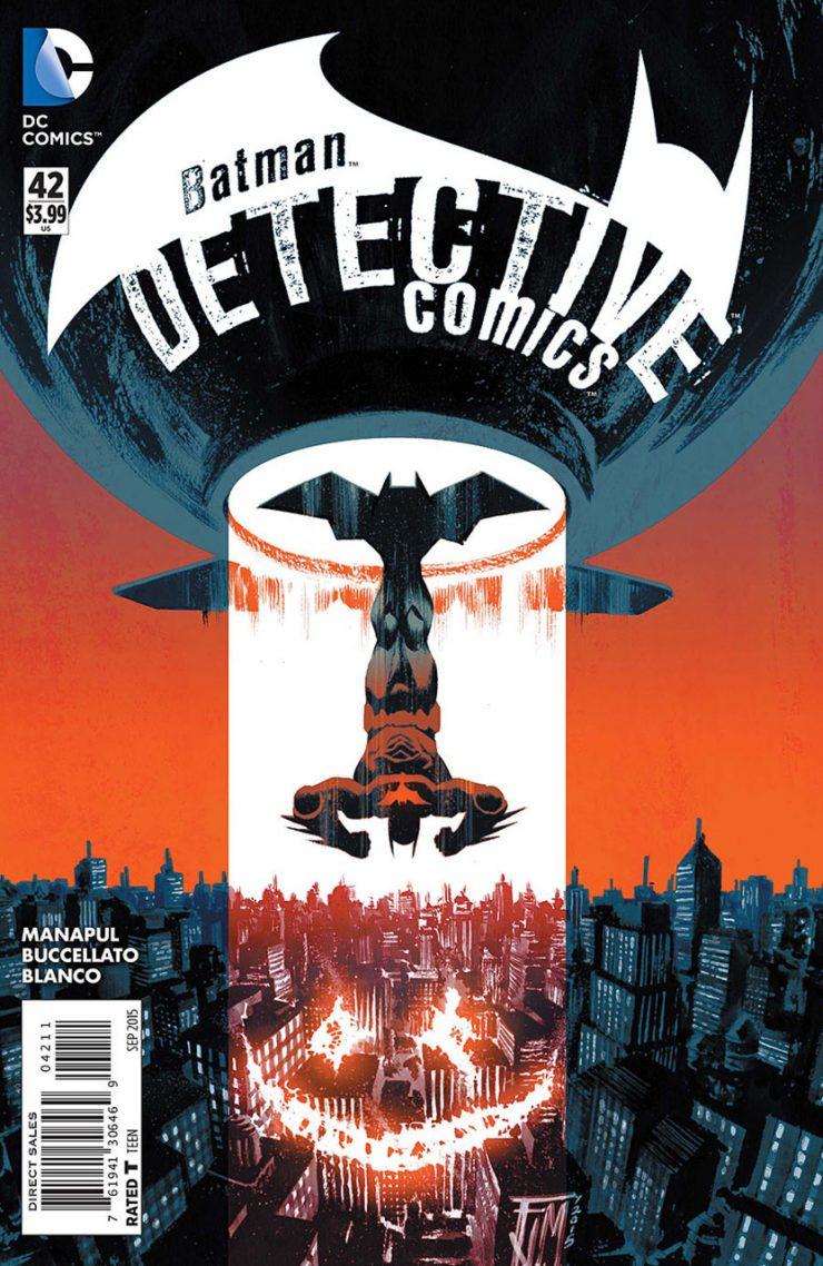 Detective Comics #42 New52, комікси про бетмена