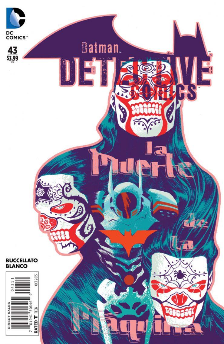 Detective Comics #43 New52, комікси про бетмена