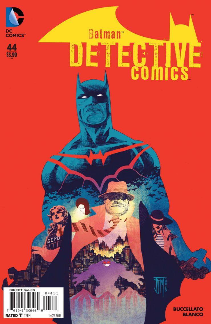 Detective Comics #44 New52, комікси про бетмена