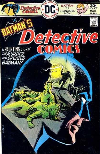 Detective Comics #457, комікси про бетмена, українські комікси