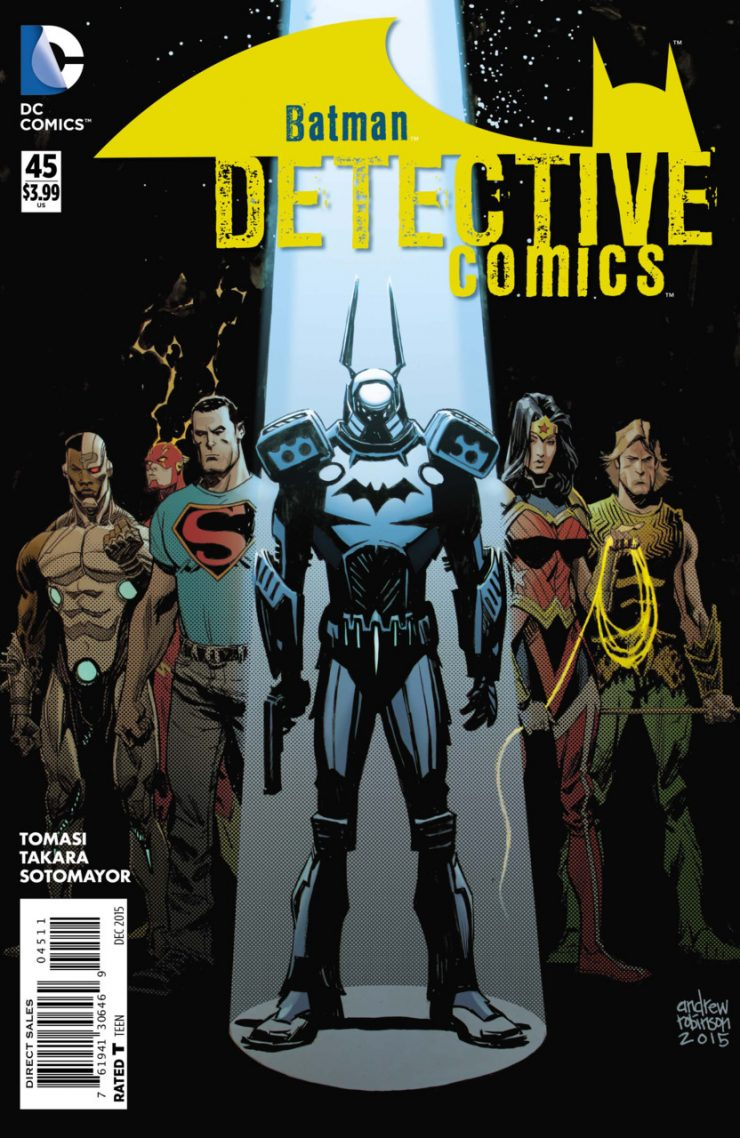 Detective Comics #45 New52, комікси про бетмена
