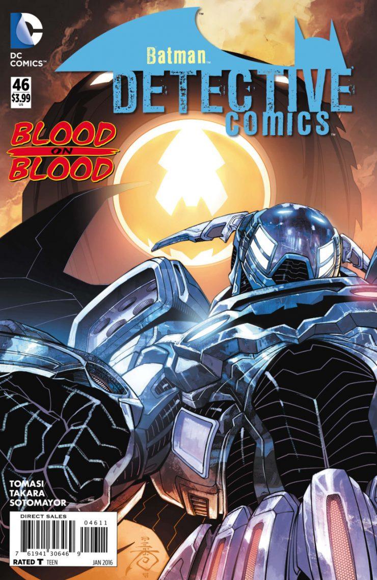 Detective Comics #46 New52, комікси про бетмена