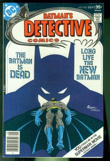 Detective Comics #472, бетмен комікси, темний лицар комікси