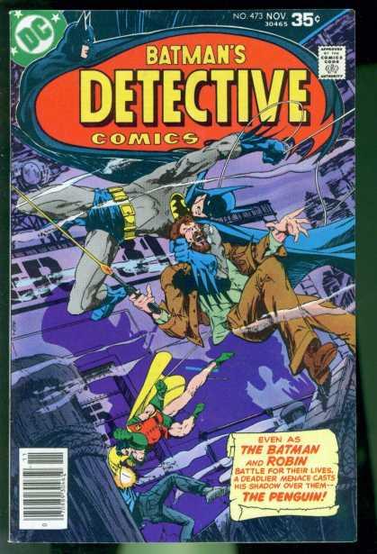 Detective Comics #473, бетмен комікси, темний лицар комікси