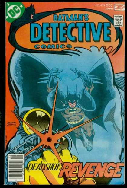 Detective Comics #474, бетмен комікси, темний лицар комікси