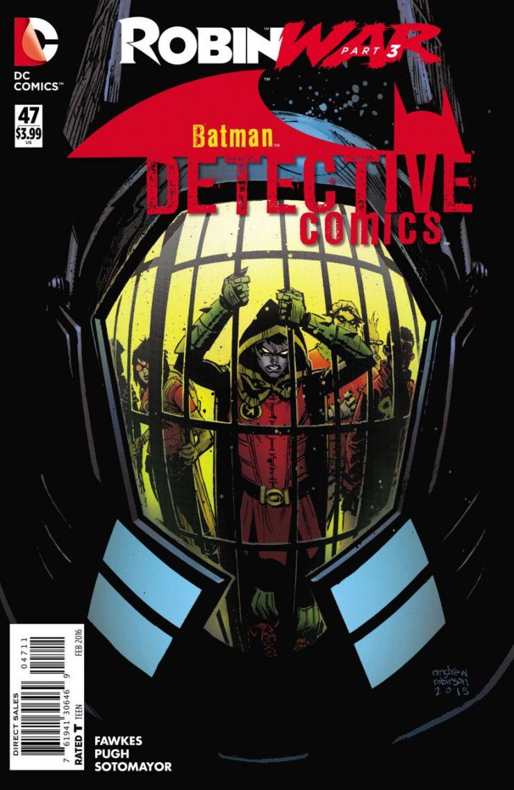 Detective Comics #47 New52, комікси про бетмена