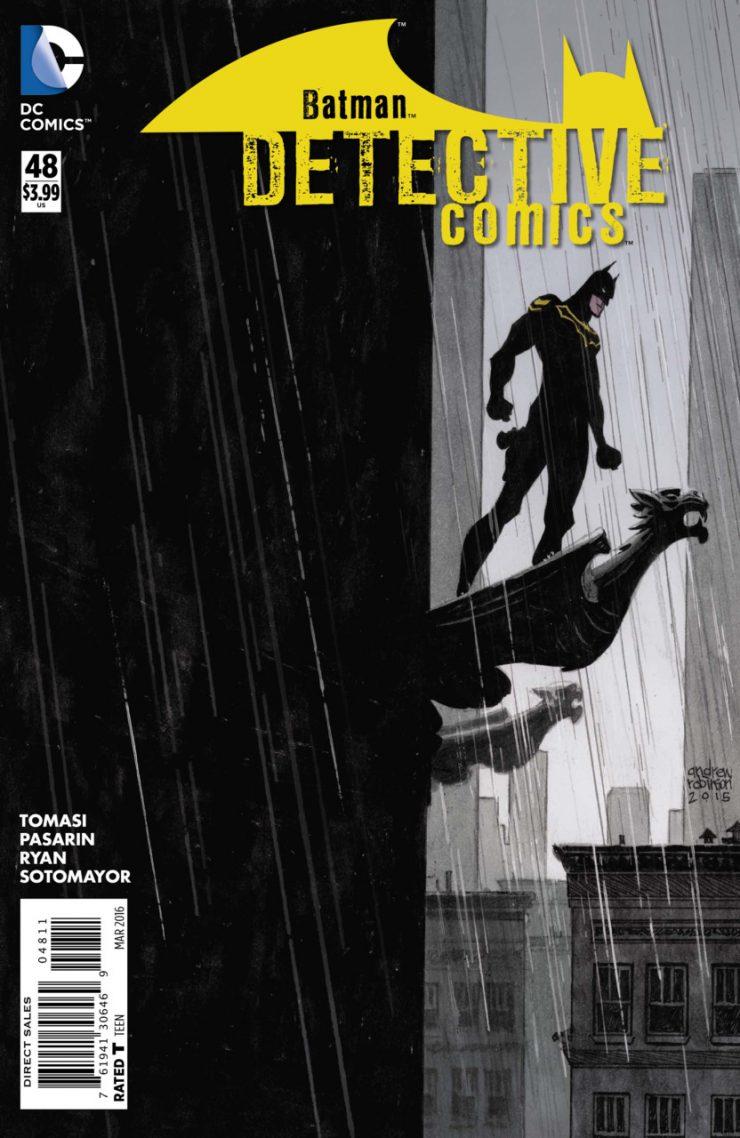 Detective Comics #48 New52, комікси про бетмена