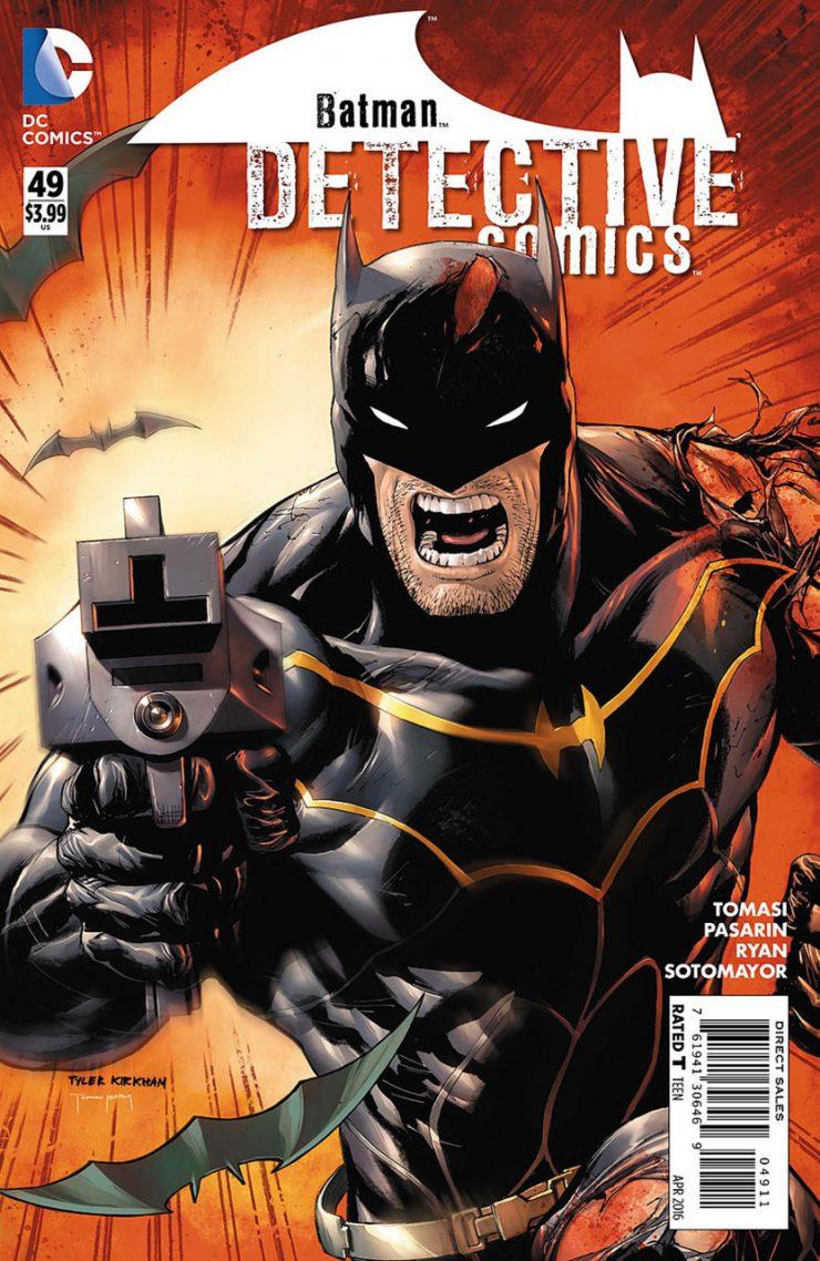 Detective Comics #49 New52, комікси про бетмена