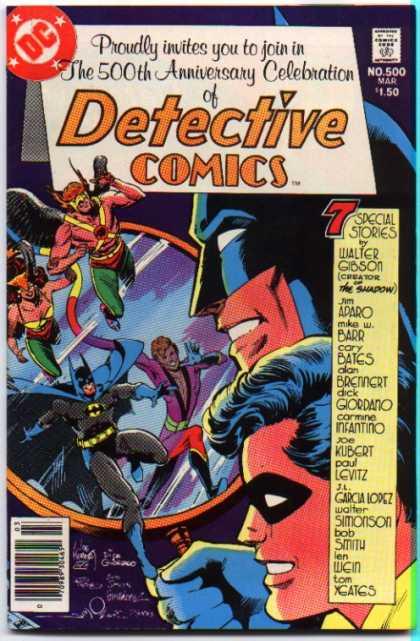 Detective Comics #500, комікси про бетмена