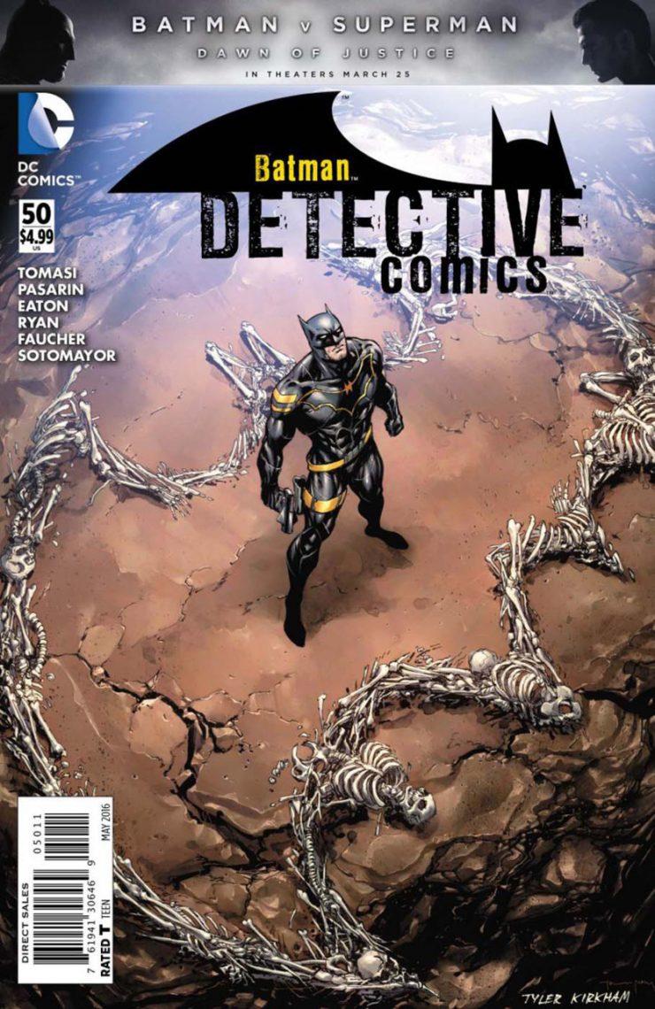 Detective Comics #50 New52, комікси про бетмена