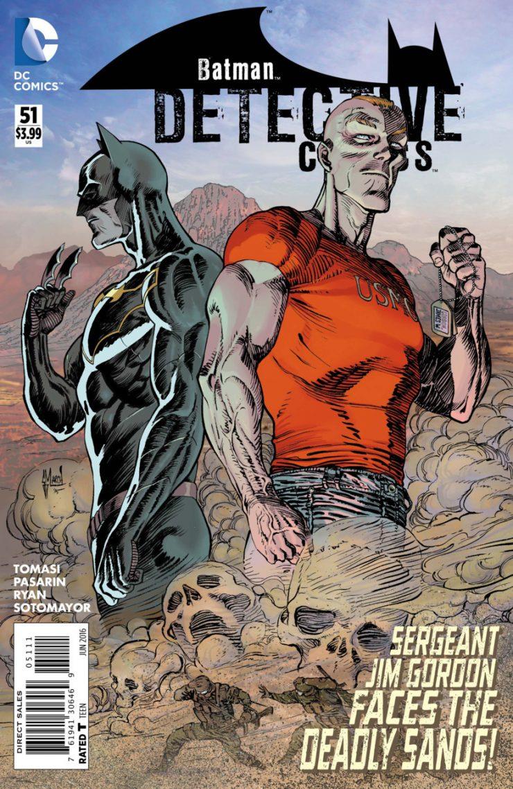 Detective Comics #51 New52, комікси про бетмена