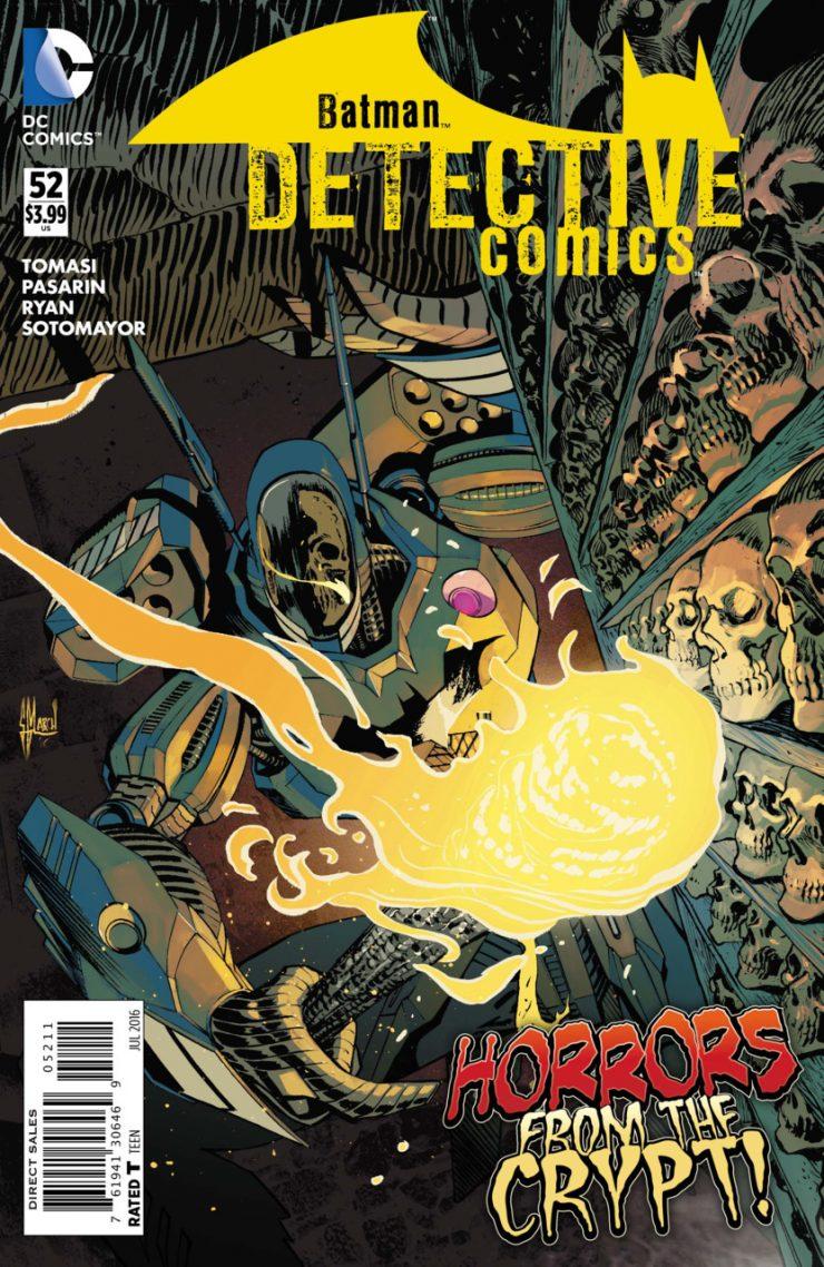 Detective Comics #52 New52, комікси про бетмена