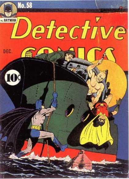 Detective Comics #58, комікси про бетмена