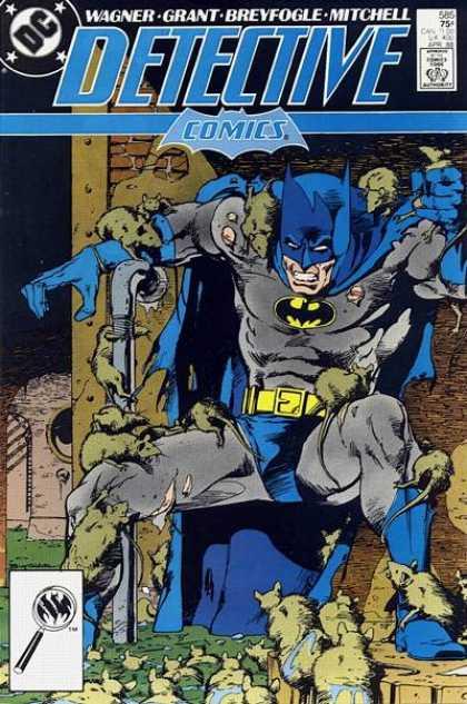 Detective Comics #585, темний лицар, комікси про бетмена