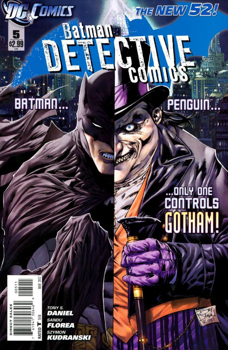 Detective Comics #5 New52, комікси про бетмена