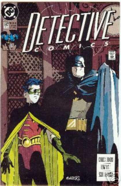 Detective Comics #647, комікси про бетмен, бетмен комікс