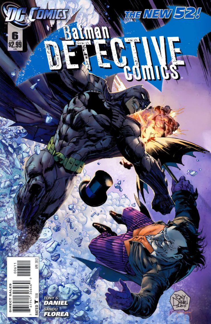 Detective Comics #6 New52, комікси про бетмена
