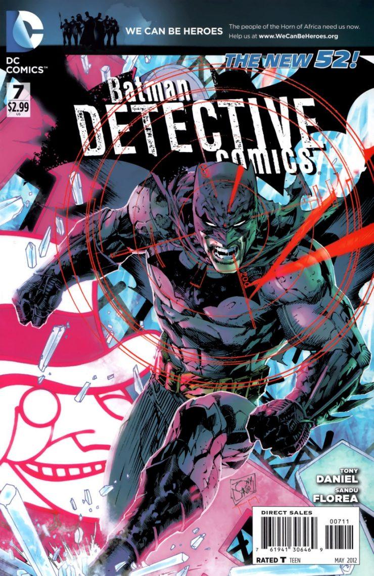 Detective Comics #7 New52, комікси про бетмена