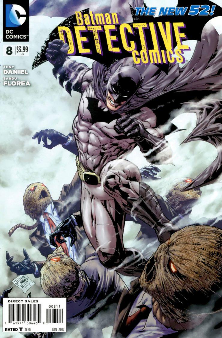 Detective Comics #8 New52, комікси про бетмена