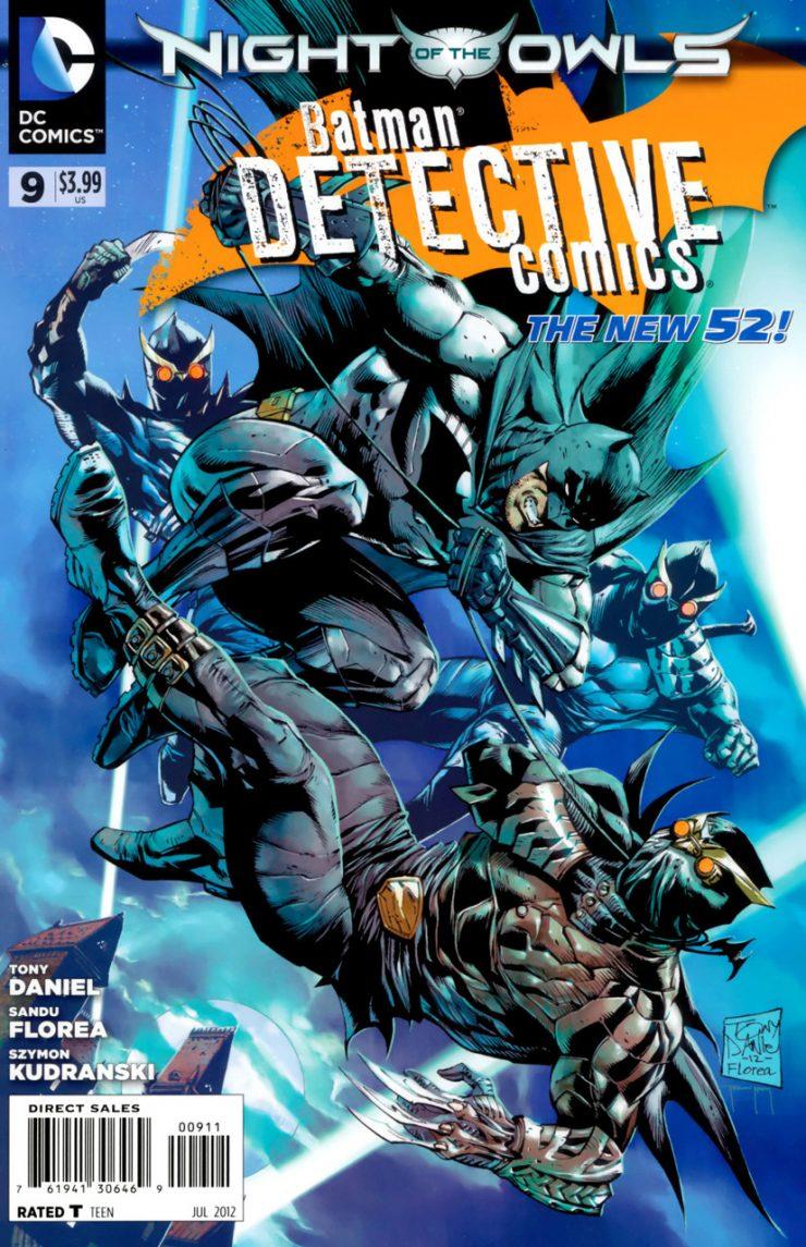 Detective Comics #9 New52, комікси про бетмена
