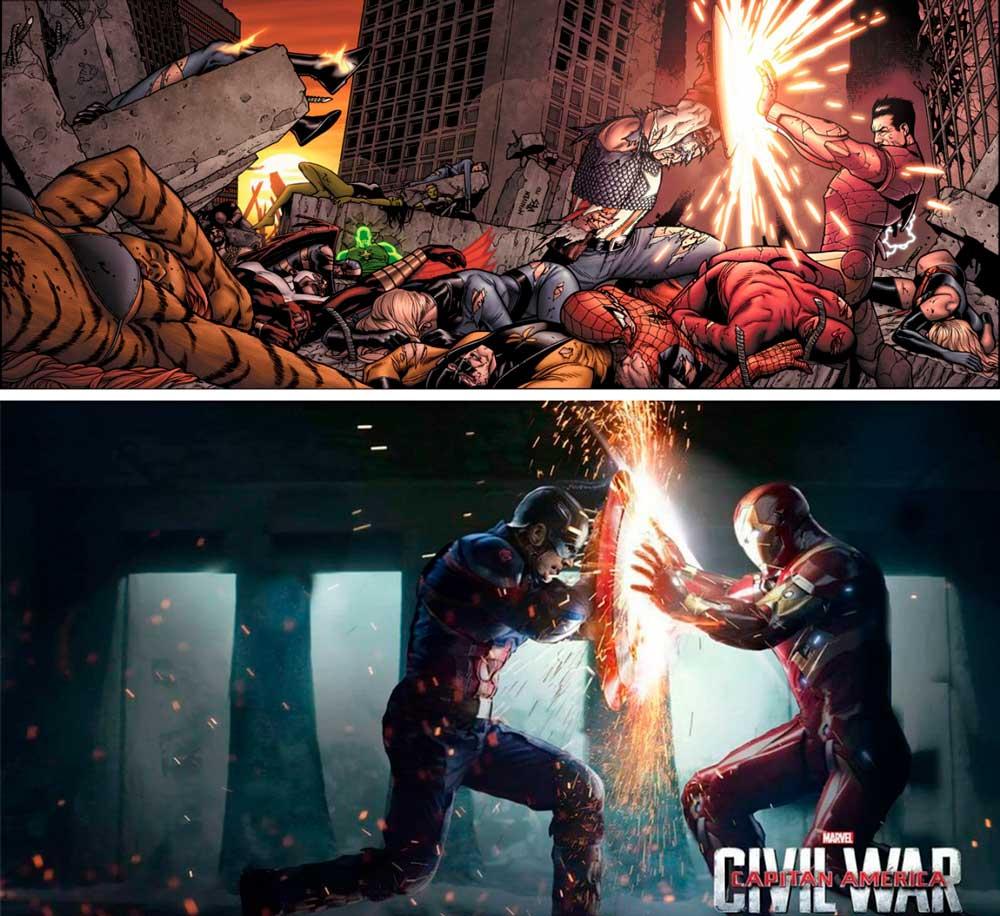 Громадянська війна, Civil War Marvel, Месники, Гражданская война Мстители