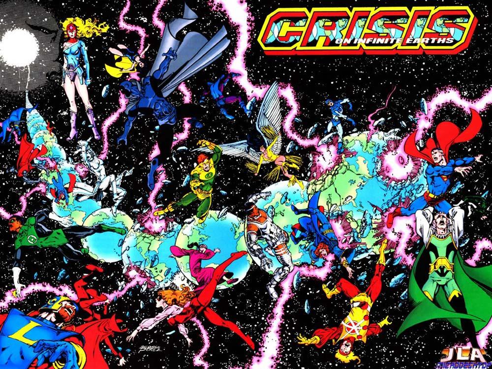 Crisis on Infinite Earth, комікси DC, комікси дс, комікси українською, історія коміксів
