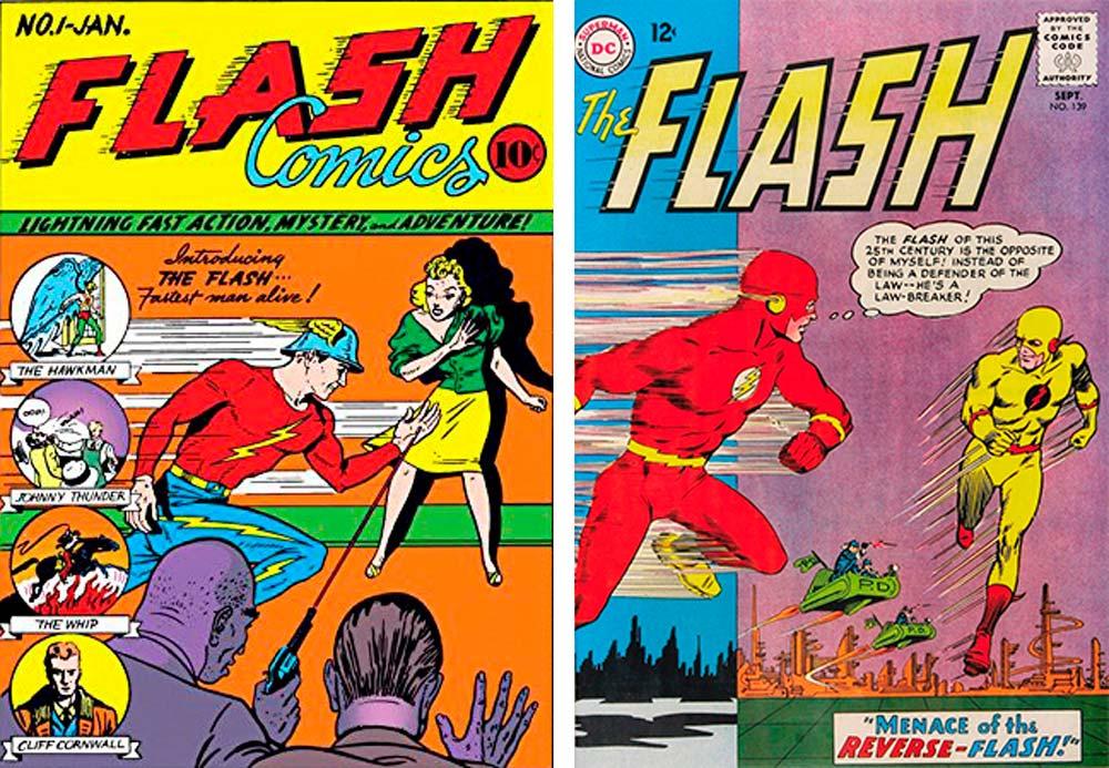 flash comics, комікси DC, комікси дс, комікси українською, історія коміксів
