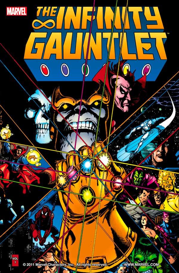 Рукавиця нескінченності, Перчатка бесконечности, Мстители, Танос