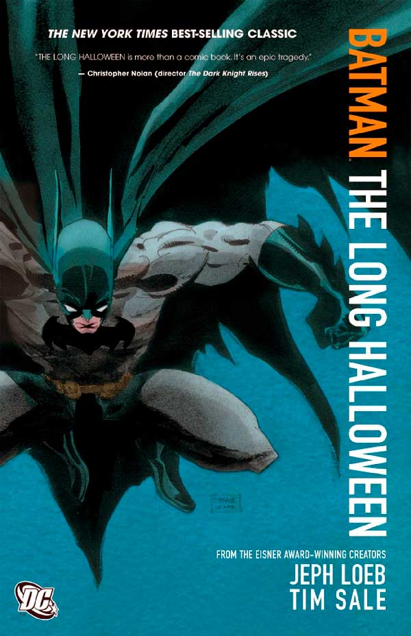 DC comics, комікси дс, комікс українською дс, Batman: the long halloween