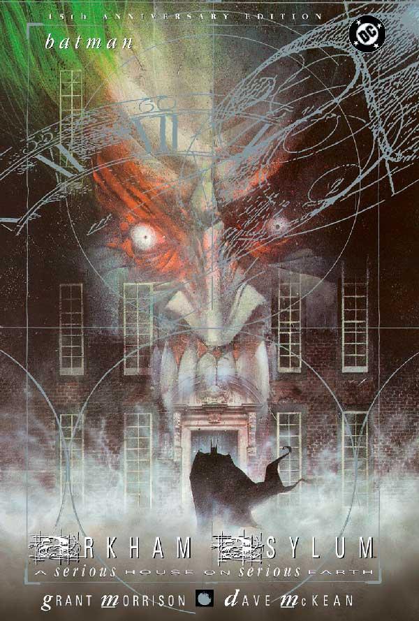 DC comics, комікси дс, комікс українською дс, Arkham asylum: a serious house on serious earth