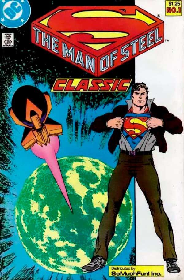 DC comics, комікси дс, комікс українською дс, The Man of Steel
