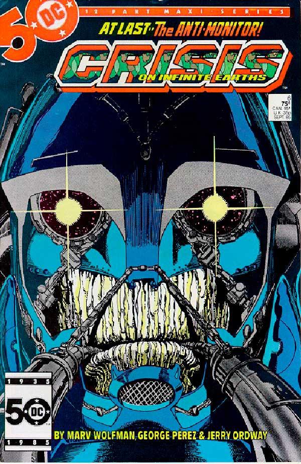 DC comics, комікси дс, комікс українською дс, Crisis on Infinite Earths