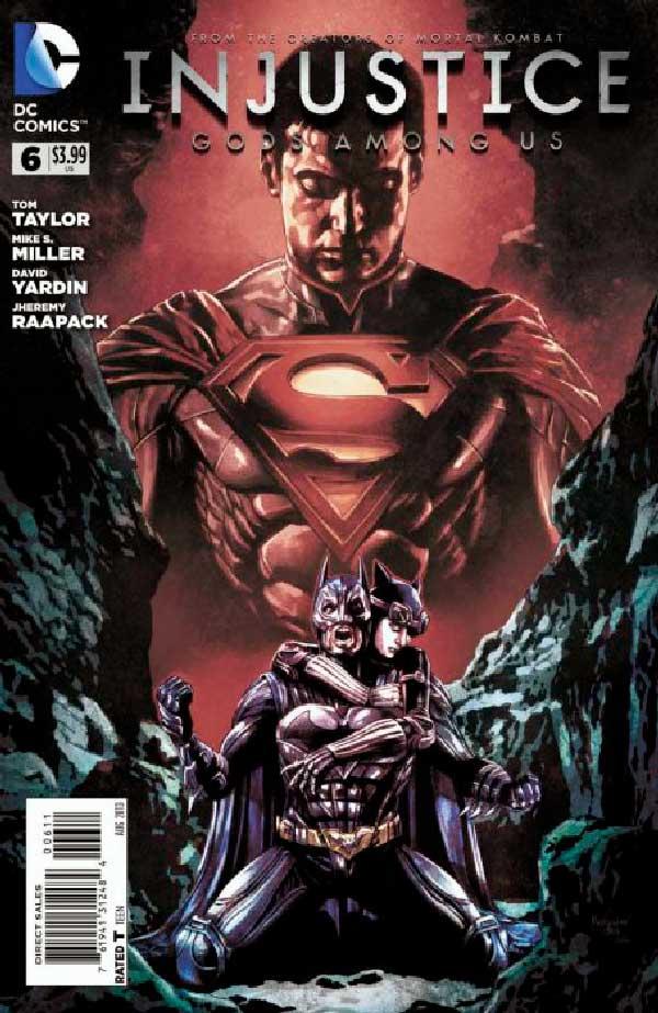 DC comics, комікси дс, комікс українською дс, Injustice: Gods Among Us