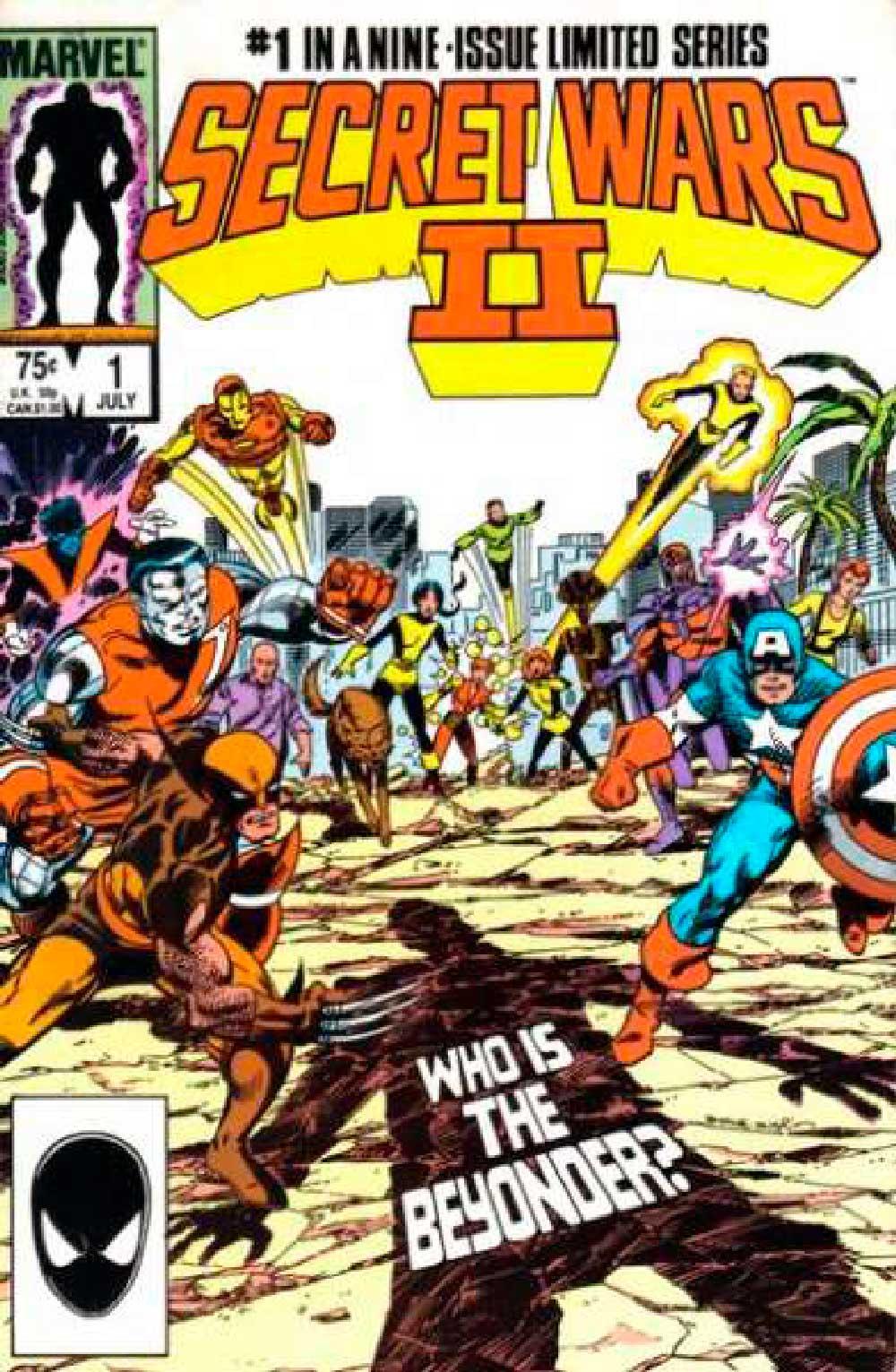 Marvel Comics,Secret Wars, комікси на українській, комікси марвел