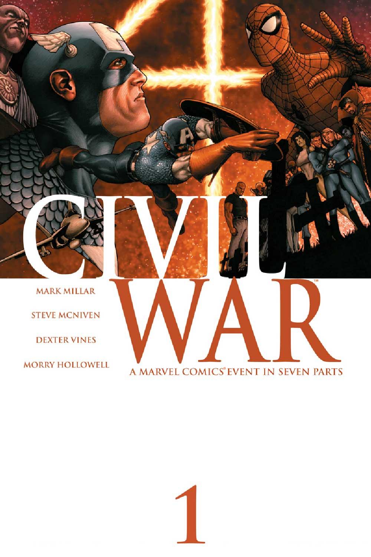 Marvel Comics,Civil War, комікси на українській, комікси марвел