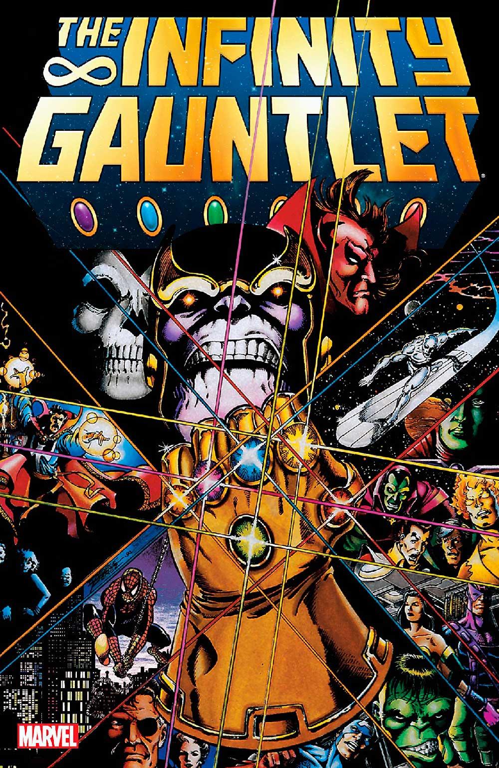 Marvel Comics,The Infinity Gauntlet, комікси на українській, комікси марвел