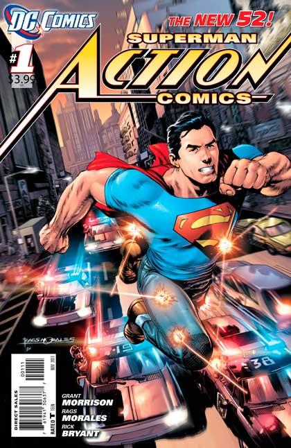 superman #1 new 52, комиксы супермен, комікси супермен New 52