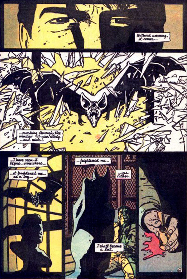 бетмен рік перший, темний лицар, batman year one, комікси про бетмена