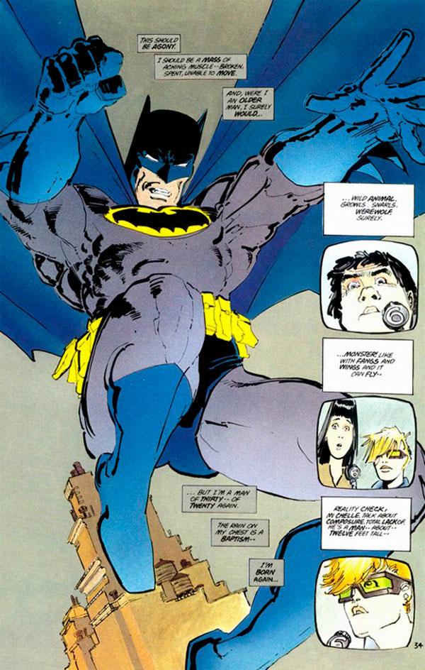 Повернення Темного лицаря комікси, Batman Dark Night Returns, комікси про бетмена, темний лицар