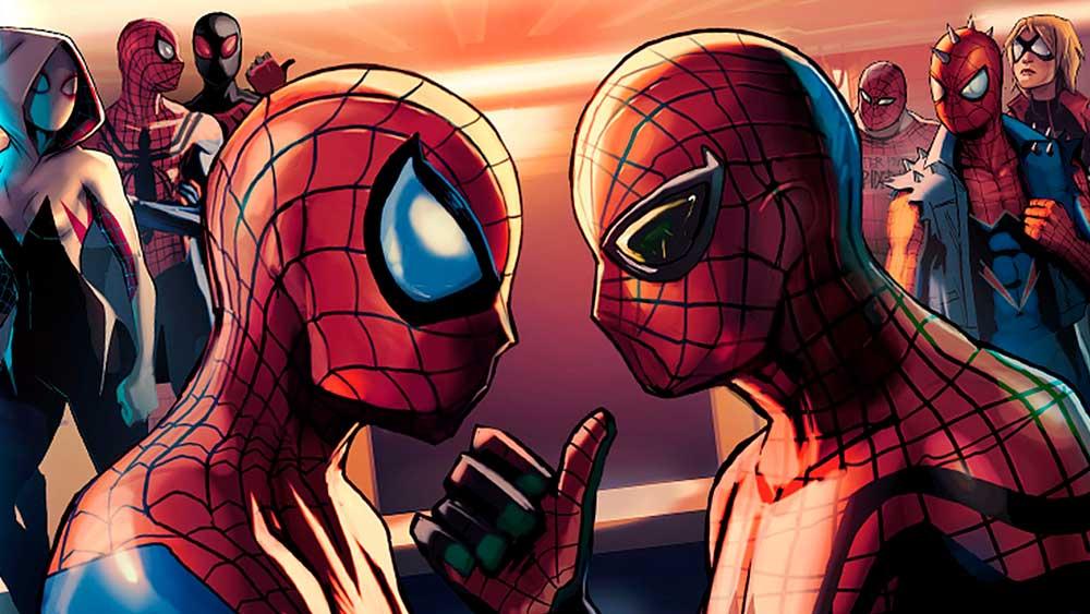 Spider-verse, комиксы про человека-паука, комікси про людину павука