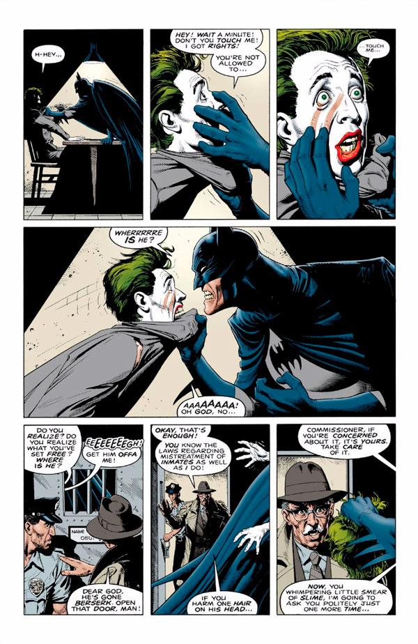 Бетмен Убивчий жарт, Batman the killing joke, Комікси про бетмена