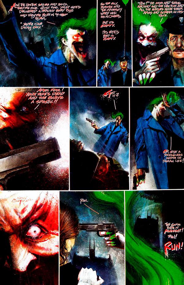 Arkham Asylum: A Serious House on Serious Earth, Бетмен Лікарня Аркхем комікс