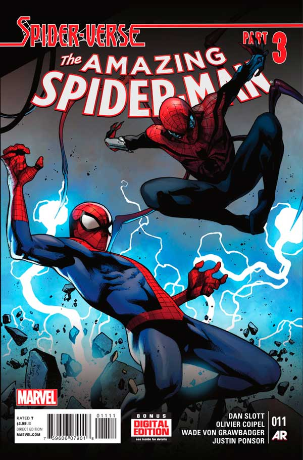 Amazing Spider-Man Vol 3 #11, людина-павук, комиксы про человека-паука
