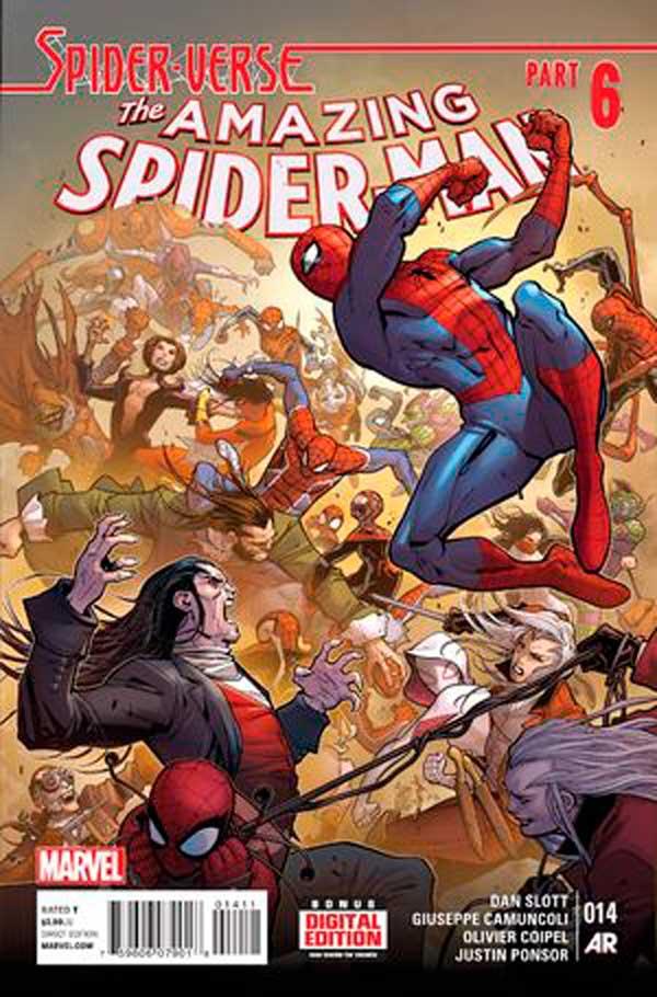 Amazing Spider-Man Vol 3 #14, людина-павук, комиксы про человека-паука